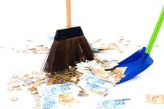 Schoon Geld royalty-vrije stock foto's