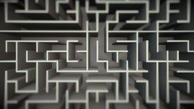 Schoon Maze Flyover stock illustratie