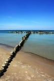 Schoon overzees water Royalty-vrije Stock Fotografie