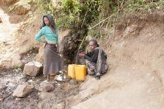 Schoon water in Afrika Stock Fotografie