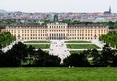 Schoonbrunn. Beautiful view on a Schoonbrunn palace in Vienna, Austria Stock Image