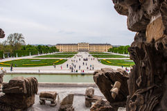 Schoonbrunn in Vienna Royalty Free Stock Images