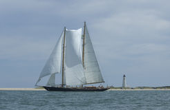 Schooner Royalty Free Stock Images