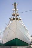 Schooner bow Stock Image
