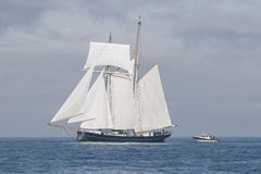 Schooner and cutter Royalty Free Stock Photography