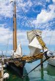 Schooner de l'Amérique 2, Key West, la Floride, Etats-Unis Photos stock