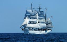 Schooner de três mastros Imagens de Stock