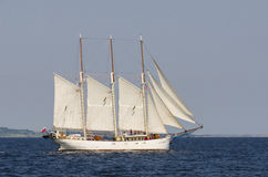 Schooner Kapitan Borchardt Royalty Free Stock Photos