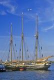 Schooner on Marina of Old Town Alexandria, Alexandria, Washington, DC Stock Image