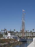 schooner masted двойником Стоковые Фотографии RF