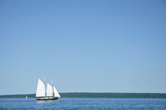 Schooner Sailboat Sailing Royalty Free Stock Photos