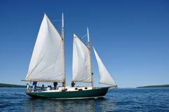 Free Schooner Sailboat Sailing On Lake Superior Royalty Free Stock Photo - 20730605