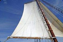 Schooner Sails (horizontal) Stock Photography