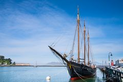 Schooner in San Francisco Royalty Free Stock Images