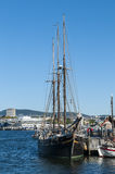 Schooner Svanen, Oslo Stock Photo