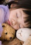 Schoonheid 5 van de slaap Royalty-vrije Stock Foto's