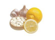 Schoonheid en gezondheid Ingrediënten voor het koken Stock Afbeelding