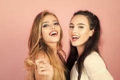 Schoonheid en manier, make-up stock fotografie