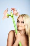 Schoonheid en tederheid in vrouwen Royalty-vrije Stock Foto