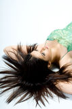 Schoonheid in Groen Stock Afbeeldingen