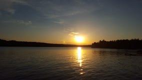 Schoonheid op het meer Royalty-vrije Stock Afbeeldingen