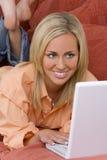 Schoonheid op het Web Stock Afbeelding