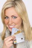 Schoonheid op Krediet royalty-vrije stock foto's