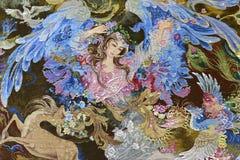 Schoonheid op tapijt Stock Fotografie