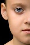 Schoonheid portret van een meisje Stock Fotografie