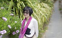 Schoonheid in tuin Stock Foto's