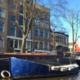 Schoonheid van Amsterdam stock foto