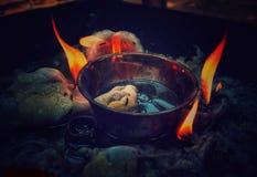 Schoonheid van brand stock afbeeldingen