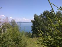 Schoonheid van de aard van Baikal royalty-vrije stock foto