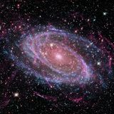 Schoonheid van diepe ruimte Elementen van dit die beeld door NASA wordt geleverd vector illustratie