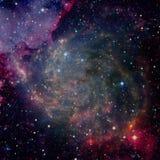 Schoonheid van diepe ruimte Elementen van dit die beeld door NASA wordt geleverd royalty-vrije stock foto's