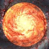 Schoonheid van eindeloze kosmos Elementen van dit die beeld door NASA wordt geleverd stock illustratie