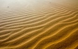 Schoonheid van Landschapswoestijn, Rood Zandduin Mui Ne in Vietnam royalty-vrije stock fotografie