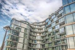 Schoonheid van moderne architectuur Stock Fotografie