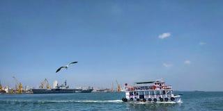 Schoonheid van Overzees of Oceaan royalty-vrije stock foto's