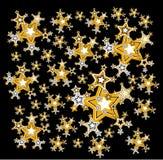 Schoonheid van sterren vector illustratie