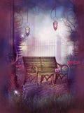 Schoonheid van Tuin Stock Afbeelding