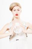 Schoonheid Vera N4 Royalty-vrije Stock Afbeeldingen