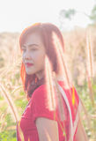 Schoonheids Romantisch Meisje in openlucht Stock Fotografie