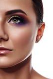 Schoonheids vrouwelijk Model met Commerciële Samenstelling stock fotografie