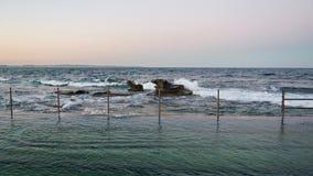 Schoonheids zwembad royalty-vrije stock afbeeldingen