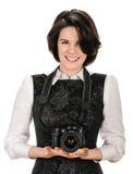 Schoonheidsfotograaf Stock Foto's