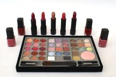 schoonheidsmiddel makeup Schoonheidsproducten Royalty-vrije Stock Foto