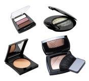 Schoonheidsmiddelen. De toebehoren van de make-up. Stock Afbeelding