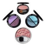 Schoonheidsmiddelen. De toebehoren van de make-up. Stock Foto's