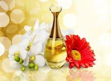 Schoonheidsmiddelen, Samenstelling, Parfum Stock Afbeelding
